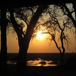 Sunset in Chobe National Park