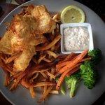 Halibut fish & chips - the best!!