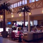 lobby palms