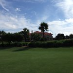 TPC at Sawgrass Stadium Course - 18th and clubhouse