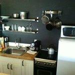 Beach House Loft Kitchen Area