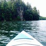Kayaking on Cox Hollow