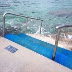 Walkway to ocean to snorkel, a must!