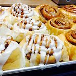 Our fresh made Cinny rolls