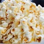 Fresh white popcorn from Bye's Popcorn