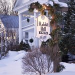 Romantic winter vacation in Vermont