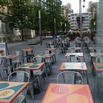 Leon - outdoor seating