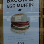 Leon - morning breakfast mcmuffins