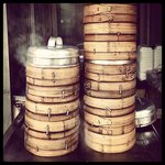 Steamers filled with delicious dumplings