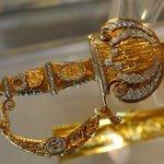 Réplica de la espada de Bolivar