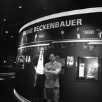 the Kaiser himself ...and some guy named Franz Beckenbauer