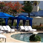 Cabanas by the Pool