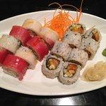 tuna roll & salmon roll