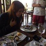 My friend's birthday surprise from F&B team
