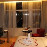 Anniversary ammenties and room