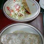 Taco and burrito