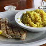 Grilled Mahi with Rice Pilaf