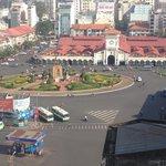 main roundabout near Ben Trahn