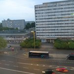 View from our room across Otto-Braun-Strasse