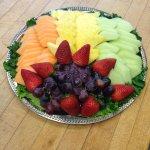 Fresh fruit tray!