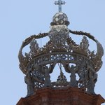 Detail on Crown of Our Lady of Guadalupe, Puerto Vallarta