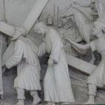 Station of the Cross Bas-relief