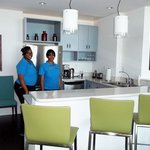 Kitchen area in Penthouse Suite