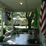 Entrance To Lake Crescent Lodge
