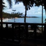 View from our Seaview Bungalow (#A2)