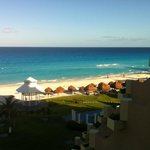 view from our Royal suite oceanview -well worth the extra cost