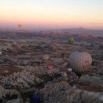 Balloons over Capadoccia