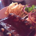 1/2 kilo ribs with french fries