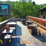 Rooftop courtyard