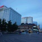Hotel and Boardwalk