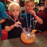 Free fishbowl cocktail