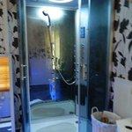 shower in faerie room