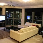 3 bedroom, view by night