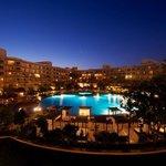 By night- main pool