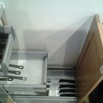 No 12: Cutlery and kitchen knives carefully arranged