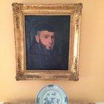 Портрет одного из предков на Villa San Gennariello