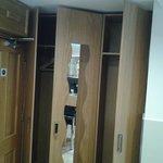 No 12 - Minor niggle - the wardrobe doors do not open fully.