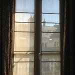 French windows which open out into the balcony