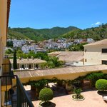 From room 223's small terrace one can admire Benahavis