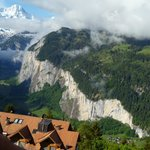Views of Lauterbrunnen from our room.