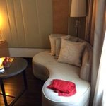 Lounge in bedroom