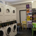 Funky laundrette -The Dictionary Hostel, Sh lockable lockers -The Dictionaroreditch, East London