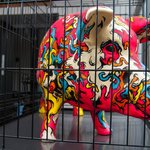 Our pig - The Dictionary Hostel, Shoreditch, East London