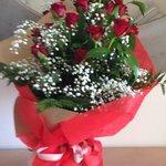 Roses in room
