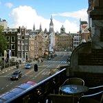 Hotel Di-Ann - Vista dalla sala pranzo, Amsterdam