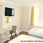 Sea View Medium Twin or Superking Room